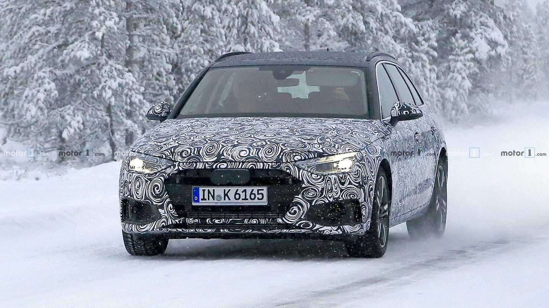 2020 Audi A4 Avant Spy Photos