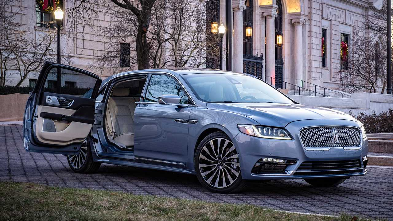 Lincoln Brings Back Suicide Doors To Continental In America