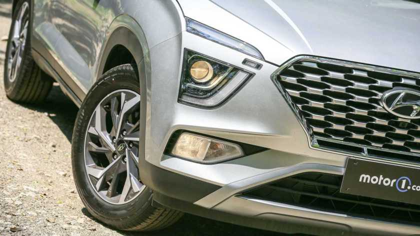 Hyundai Creta Platinum 1.0T 2022 Headlight