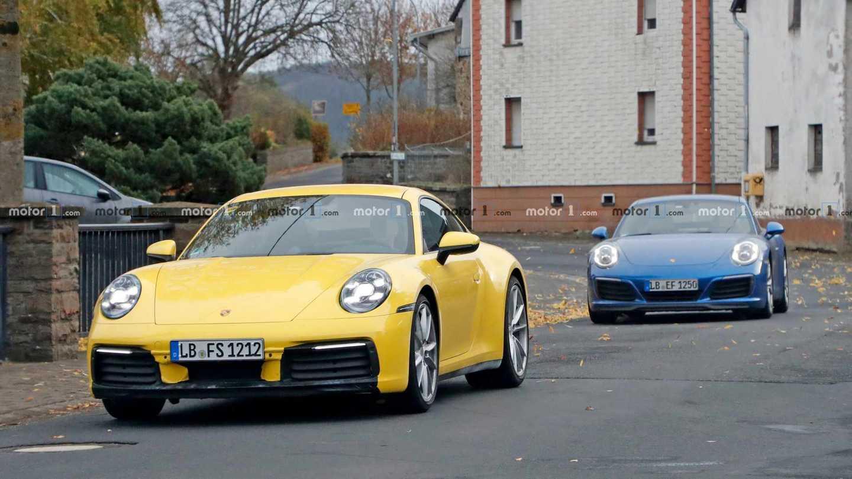 Porsche 911 New Vs. Old