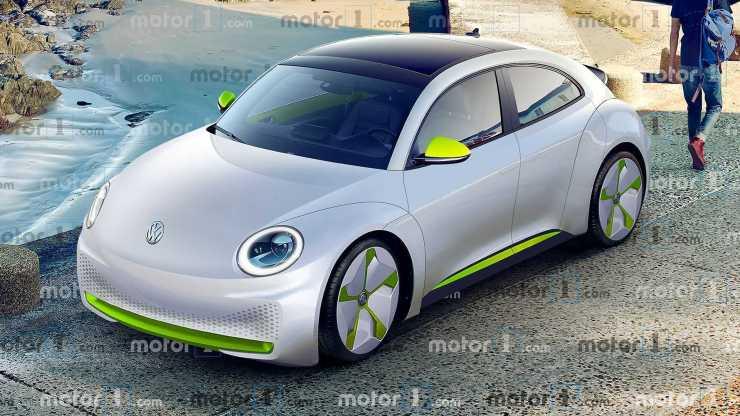 Volkswagen ID. Beetle - projeção