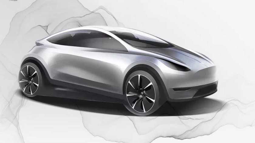 Tesla hatchback - Projection