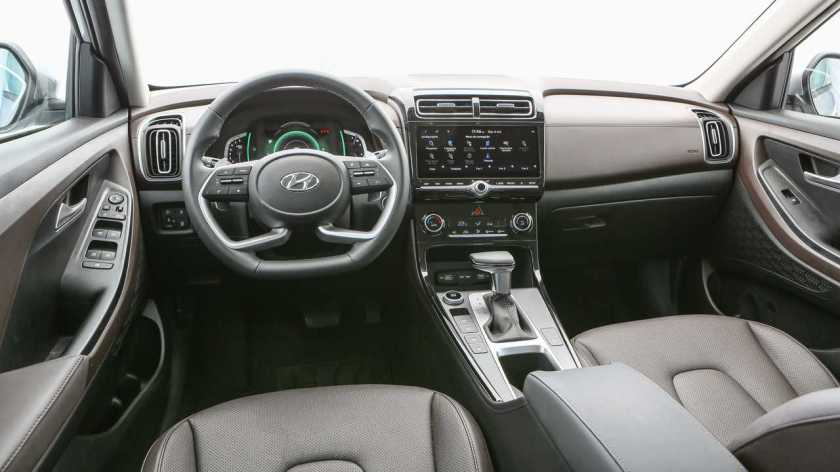 Hyundai Creta Platinum 1.0T 2022 Dashboard