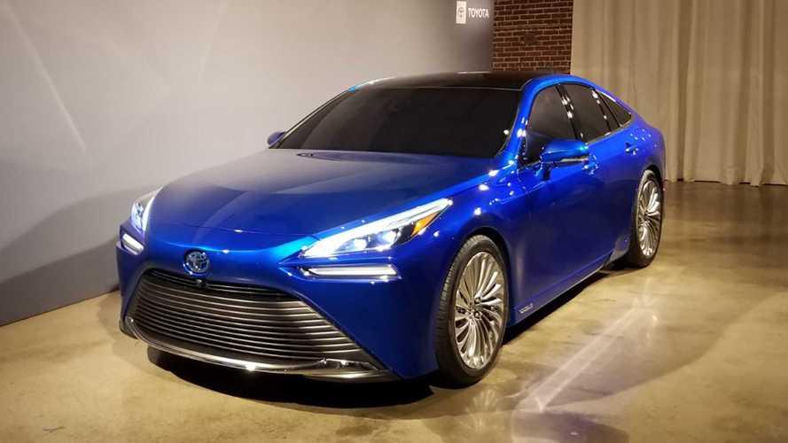 2021 Toyota Mirai Motor1 Com Photos