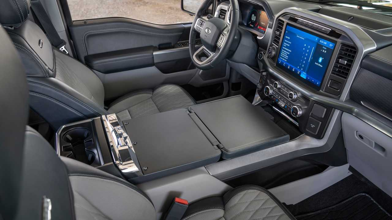 2021 limited powerboost, smoked quartz. 2021 Ford F 150 Interior New Design Features And Tech