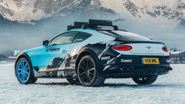 Image result for BENTLEY ICE RACE CONTINENTAL GT COUPE