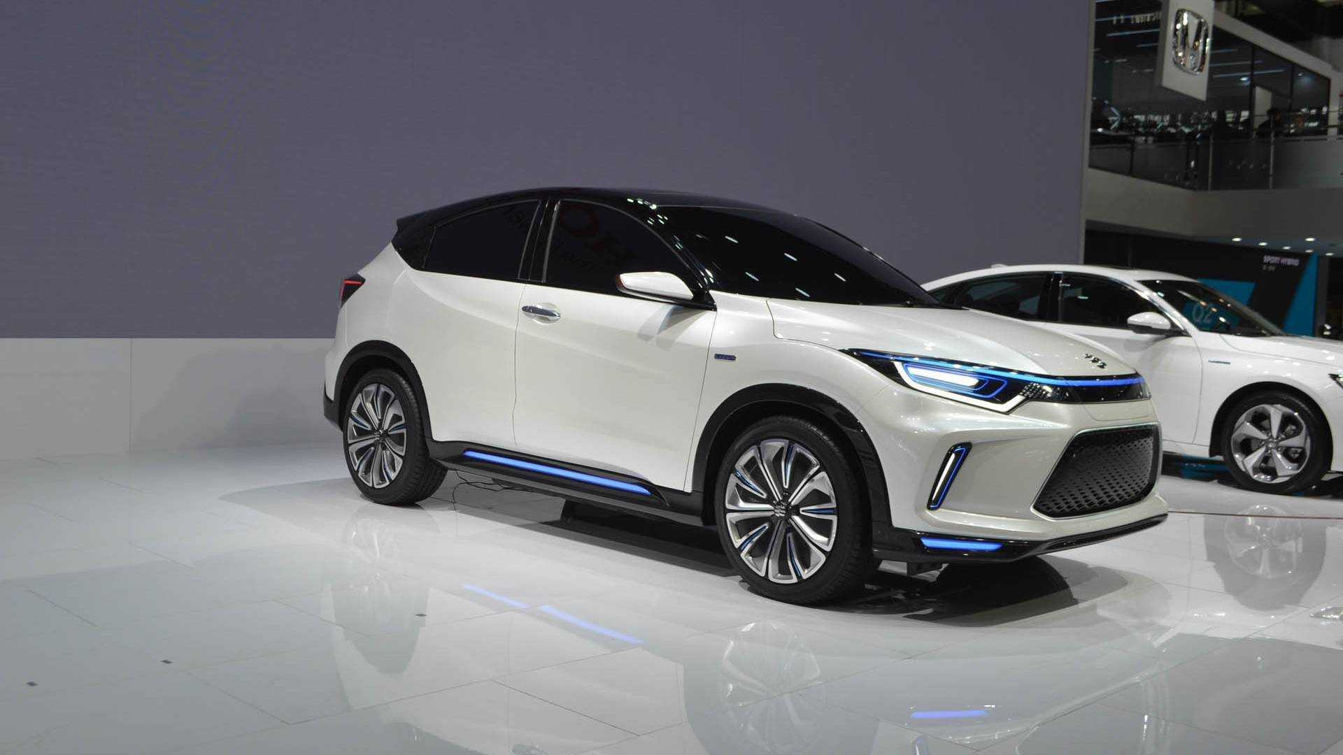 Honda Reveals Electric Cuv With 536 Kwh Battery Based On Hr V