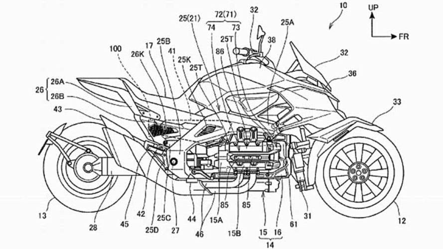 Honda Hybrid Electric Three Wheel Vehicle On the Way?