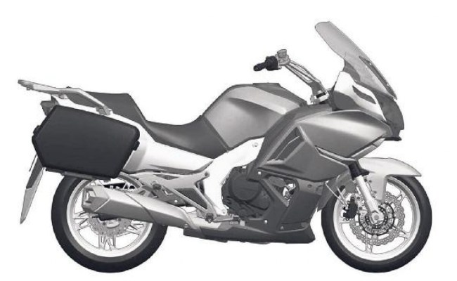 Cf Moto 650 Tk 2016 Copiata Dalla Bmw R 1200 Rt Omnimoto It Cute766