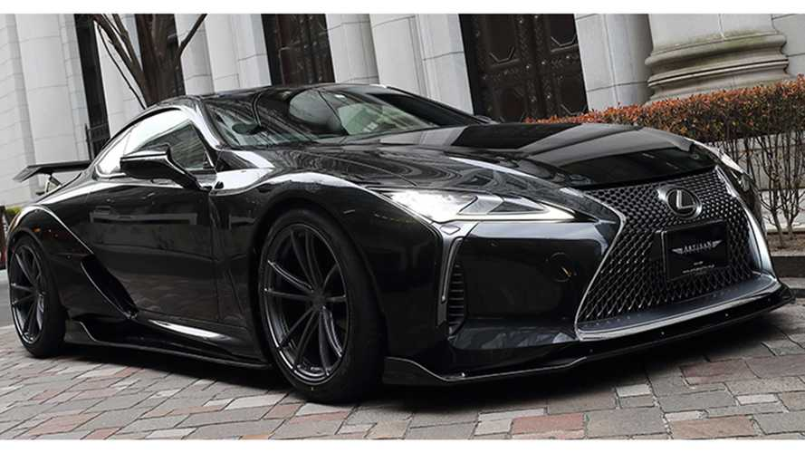 Lexus Lc Artisan Spirits Widebody Kit Motor1 Com Photos