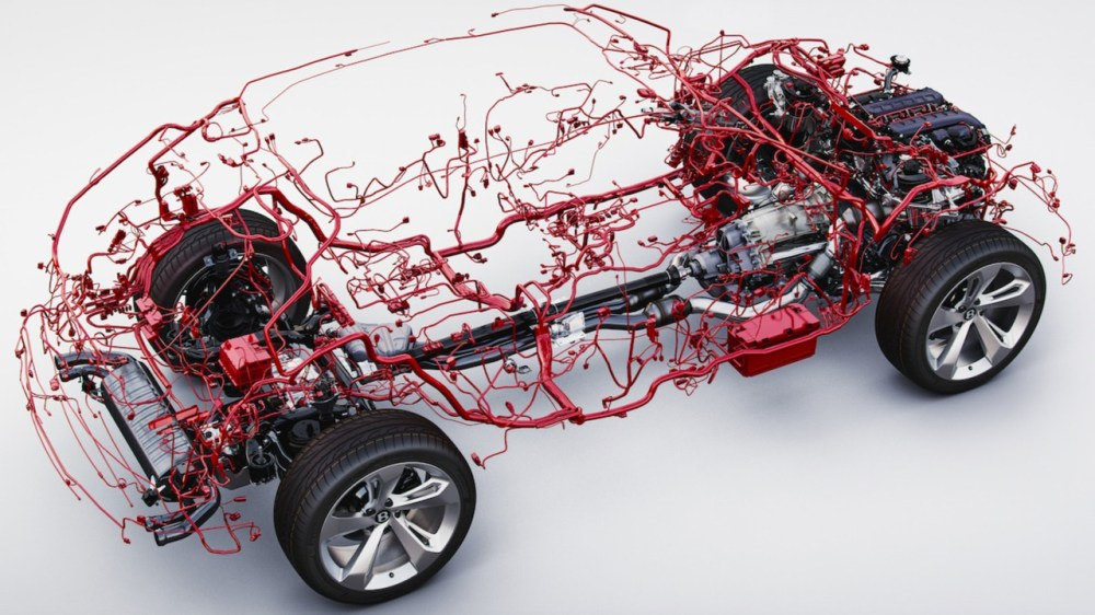 medium resolution of car wiring harness wiring diagram schemes car harness wiring duct bentley bentayga wiring harness is weirdly