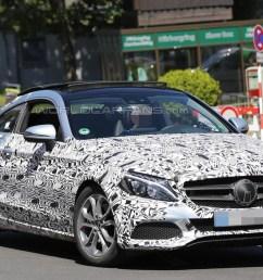2016 mercedes benz c class coupe spy photo [ 1280 x 720 Pixel ]