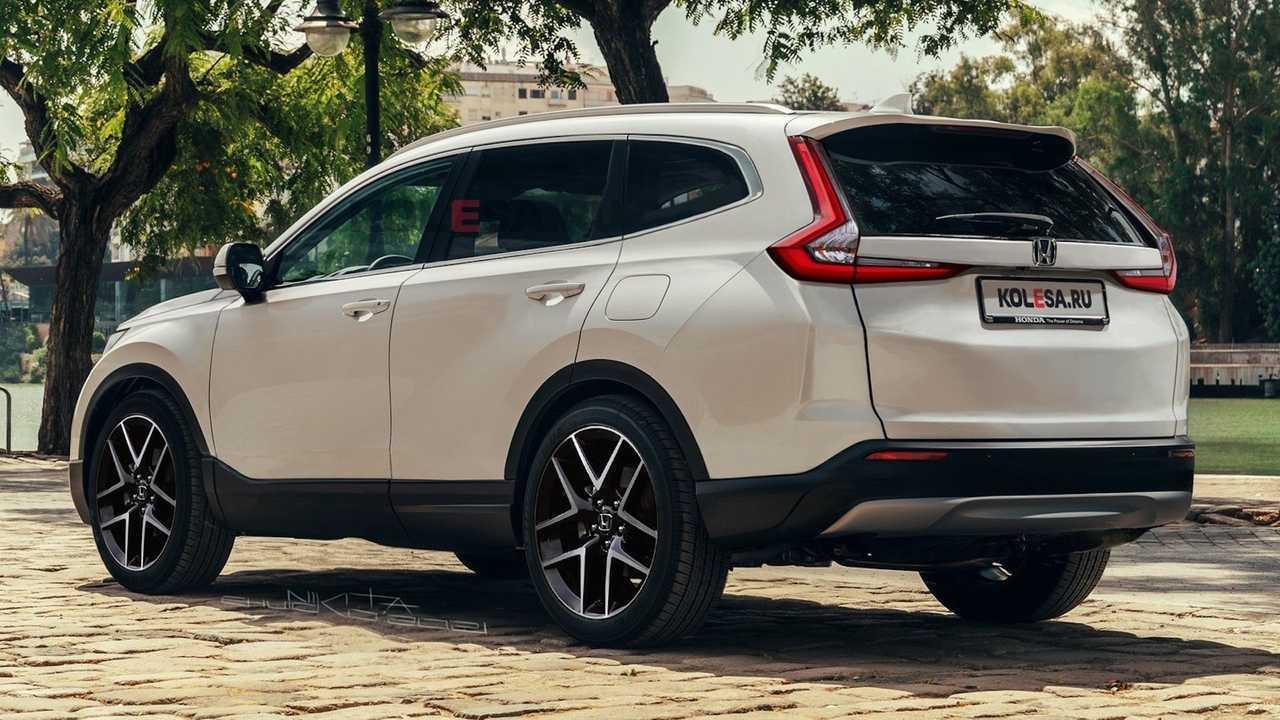 Unofficial Render of the 2023 Honda CR-V