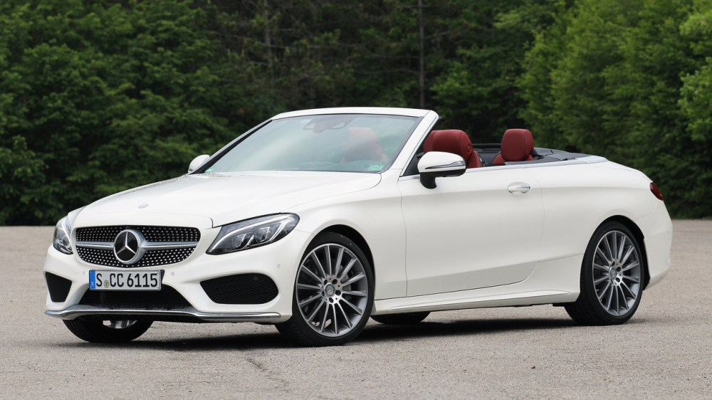 medium resolution of 2017 mercedes benz c300 cabriolet