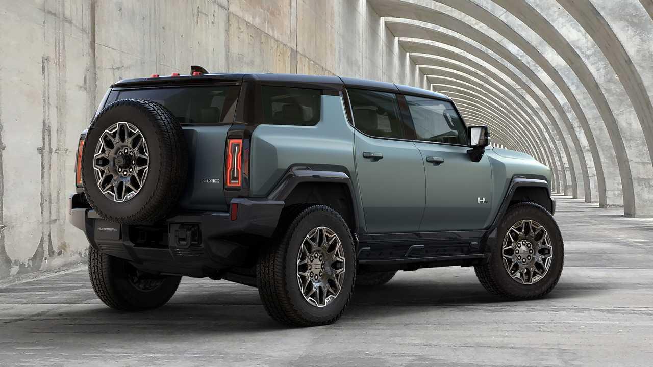 2024 GMC Hummer EV SUV trasero