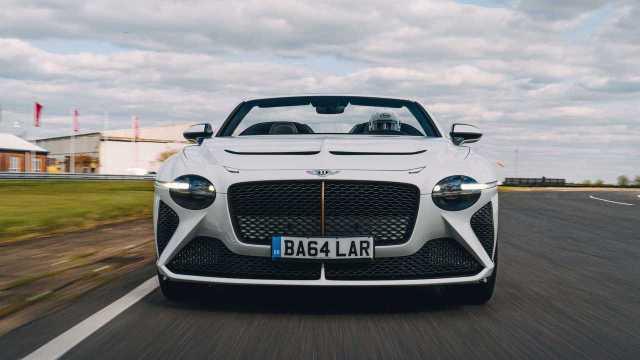 2021 Bentley Bacalar nose on tight