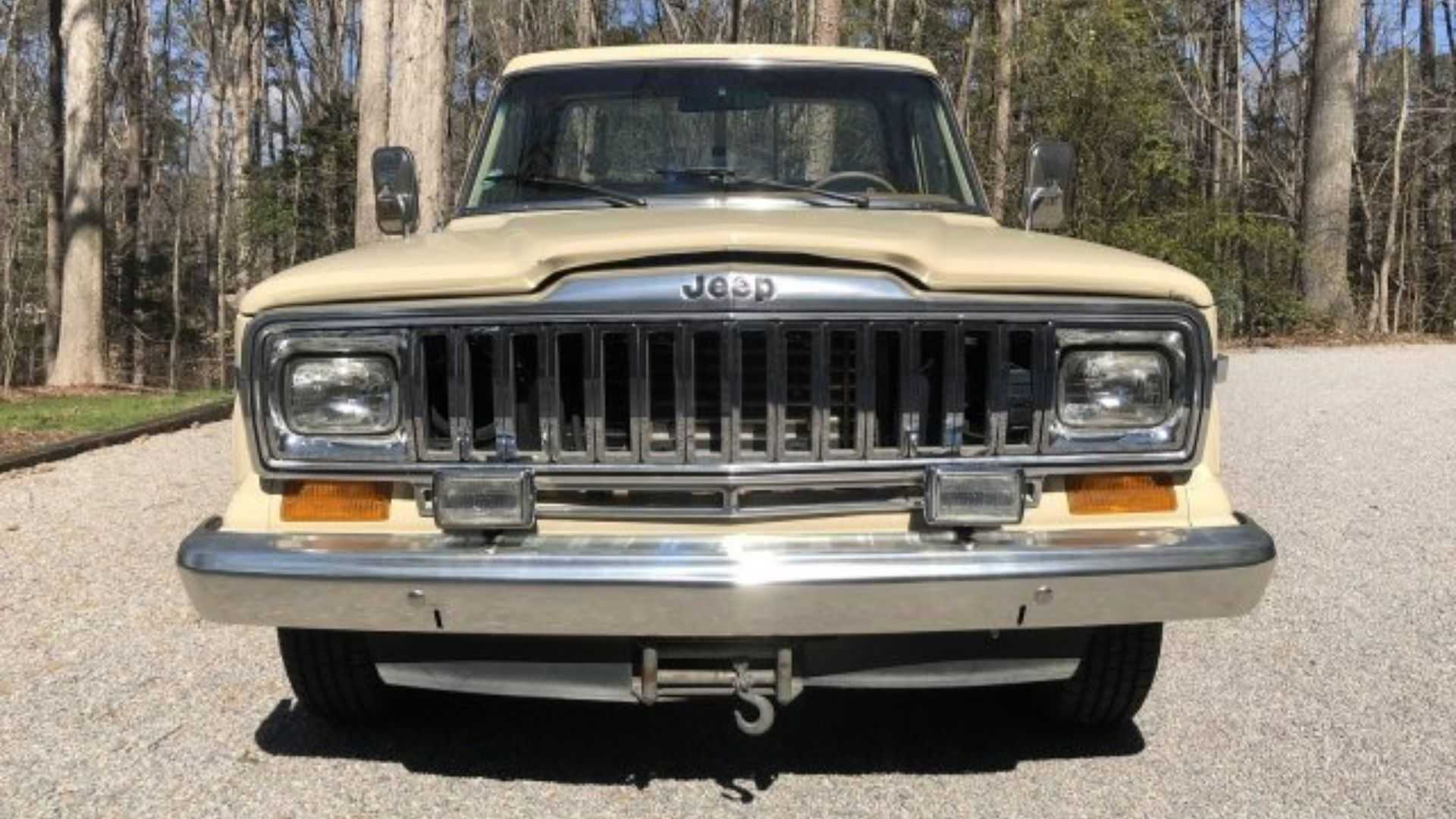 hight resolution of  save this rugged and rare 1985 jeep j10 pioneer