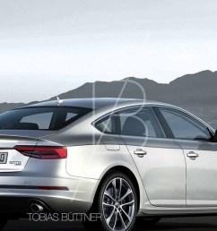 2017 audi a5 sportback render [ 1280 x 720 Pixel ]