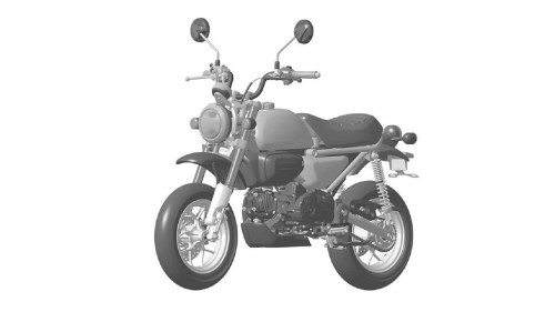 small resolution of honda 125 monkey leaked patent drawing