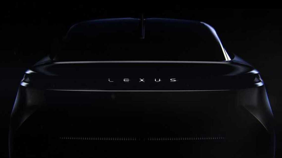 2021 Lexus konsept araç teaser