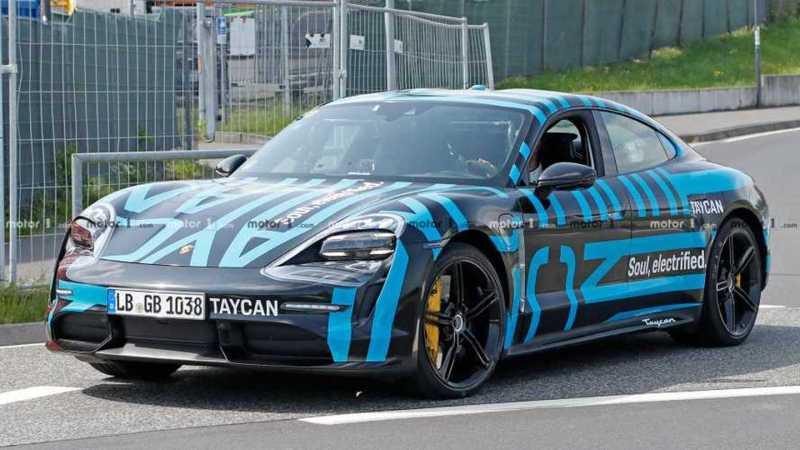 Porsche Taycan Spy Shots