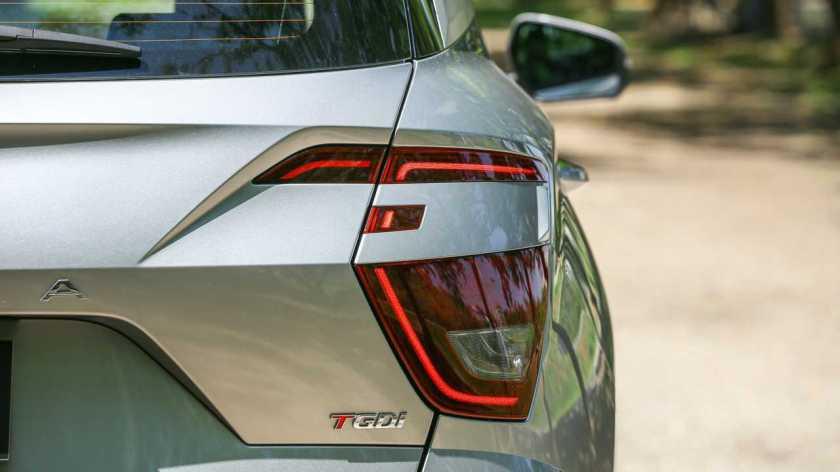 Hyundai Creta Platinum 1.0T 2022 Taillight