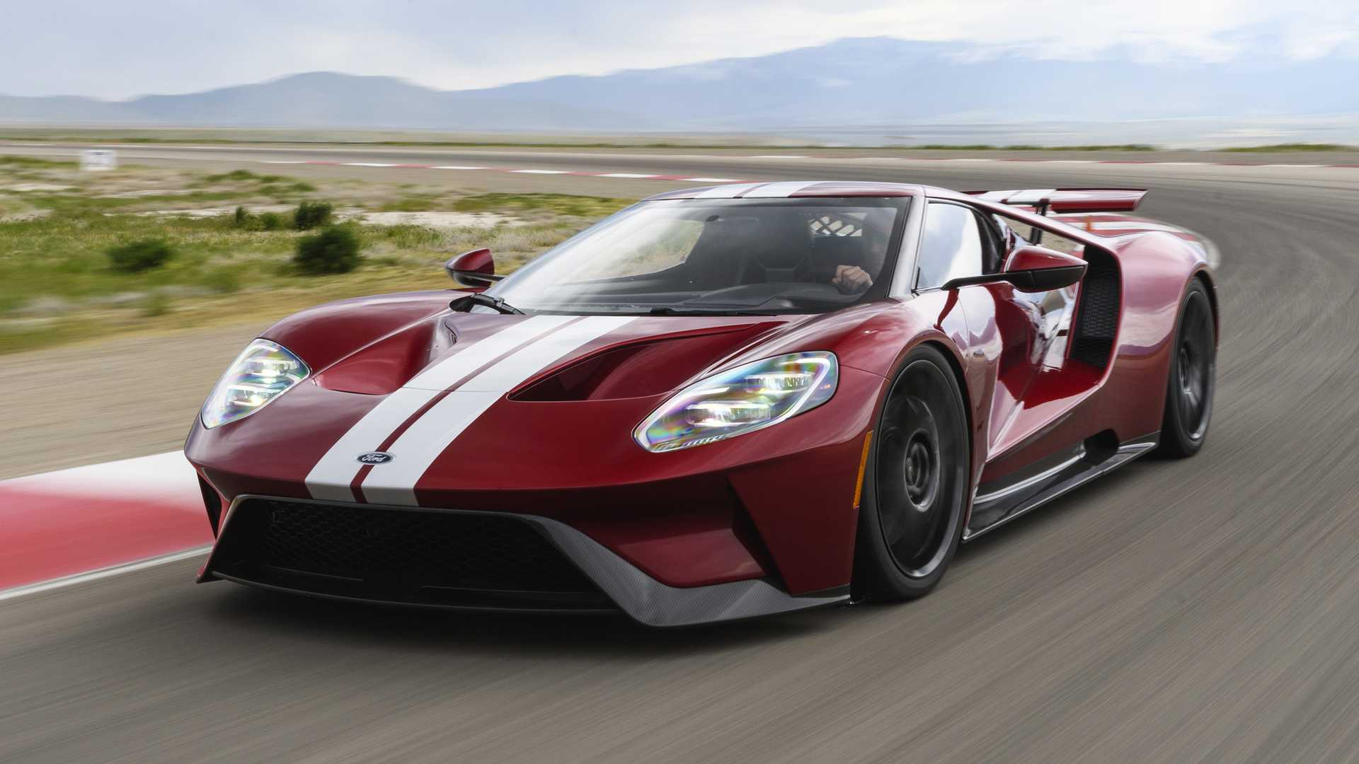 2017 ford gt sells
