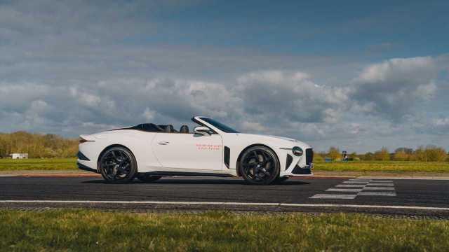 2021 Bentley Bacalar profile wide