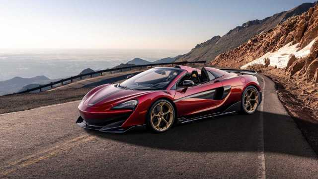 Image result for mclaren 600 spider limited edition