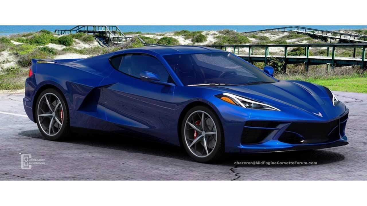 More Mid Engine Corvette Renderings To Whet Your Appetite