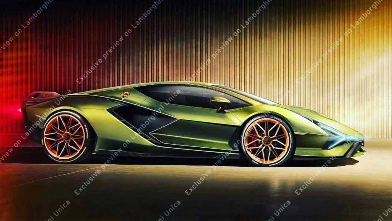 Lamborghini Sian C Est Pour Aujourd Hui