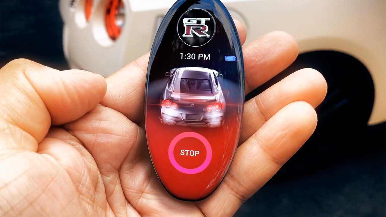 High Tech Nissan Gt R Key Fob Concept Is All Sorts Of Awesome
