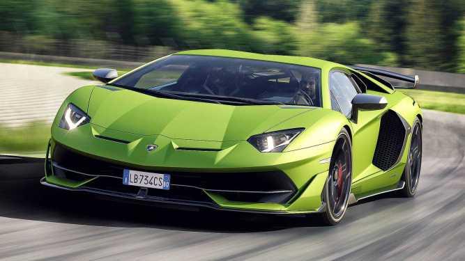 lamborghini aventador svj - Lamborghini Aventador SVJ