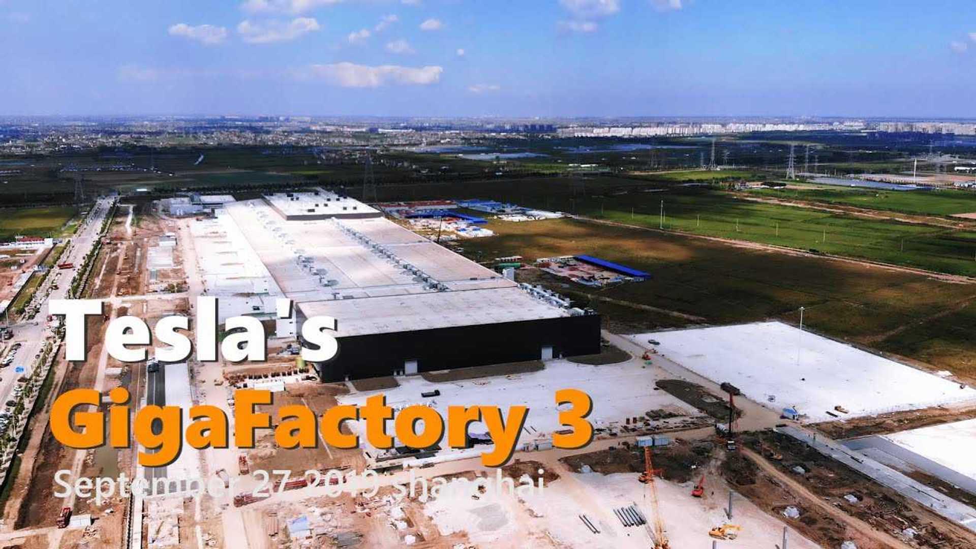 Has the struggling automaker's stock finally bottomed? Tesla Gigafactory 3 Construction Progress September 27