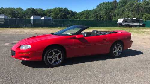 small resolution of  2000 chevrolet camaro ss convertible hits hard with an ls1