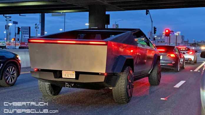 Tesla Cybertruck Spotted