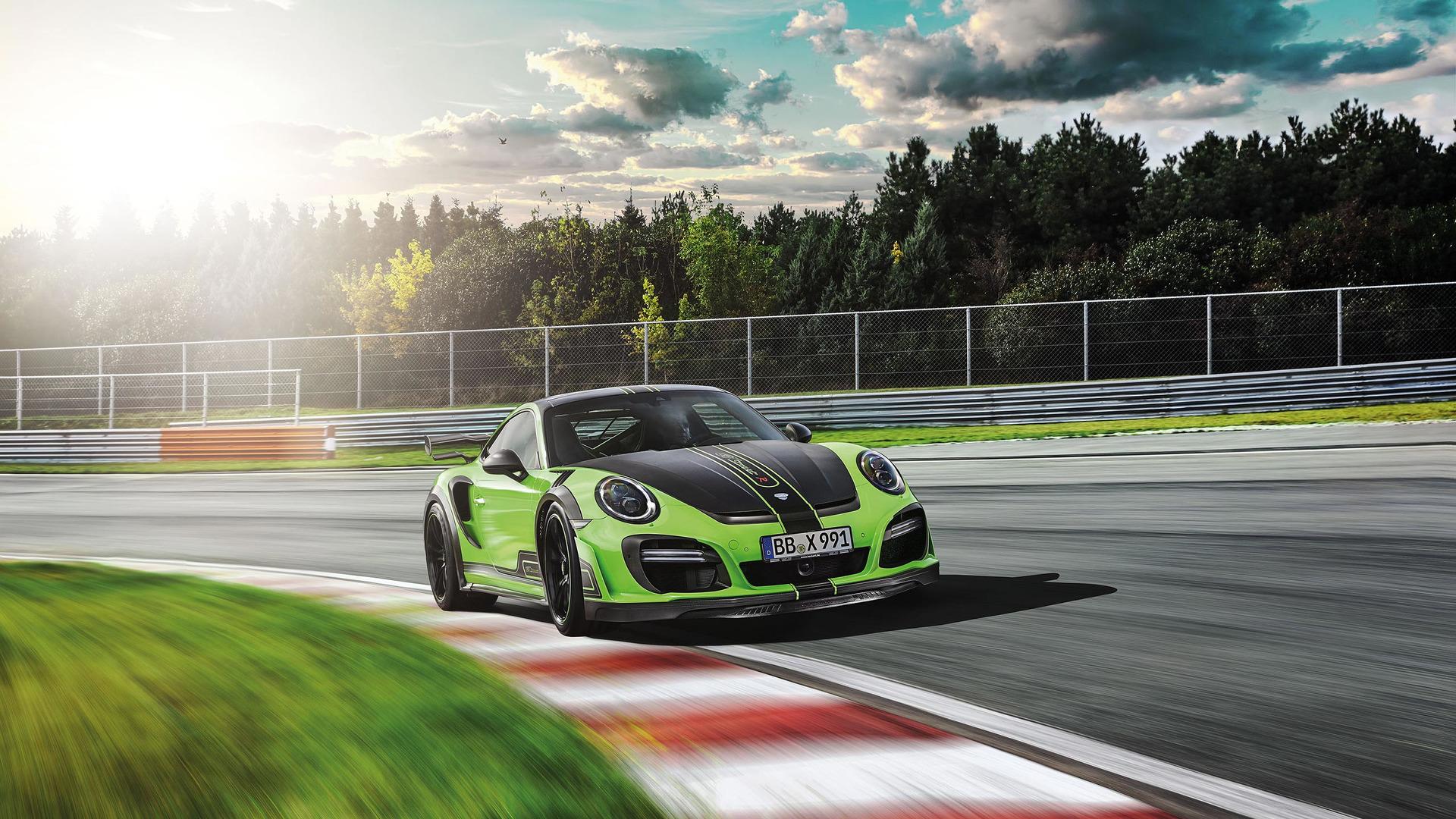 Tuned Porsche 911 Turbo Has 711 Hp High Tech Exhaust Makes It Sing