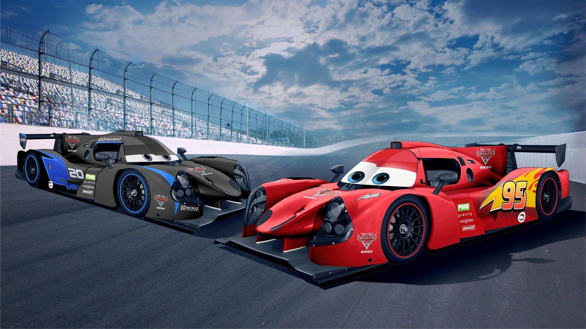 lmp3 race cars get