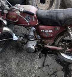 davin electric motorcycle yamaha yg 1t [ 1280 x 720 Pixel ]