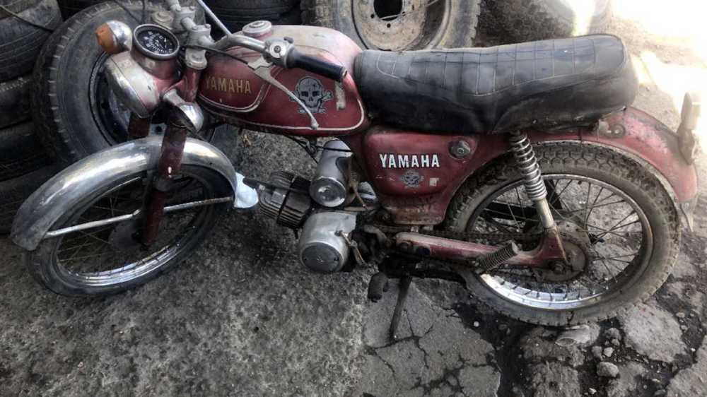 medium resolution of davin electric motorcycle yamaha yg 1t