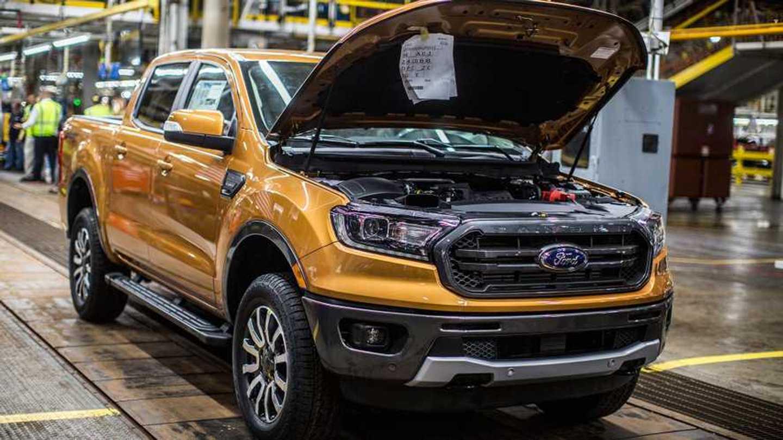 Ford Ranger Production Start