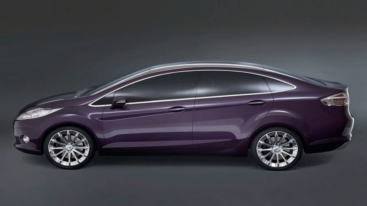 Ford Verve 4 Door Concept Motor1com Photos
