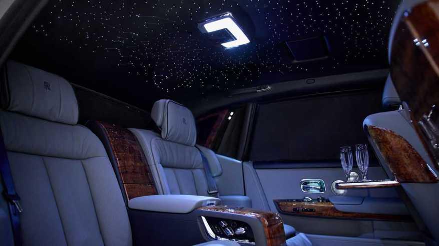 Rolls-Royce Phantom Extended Bespoke Koa Headliner