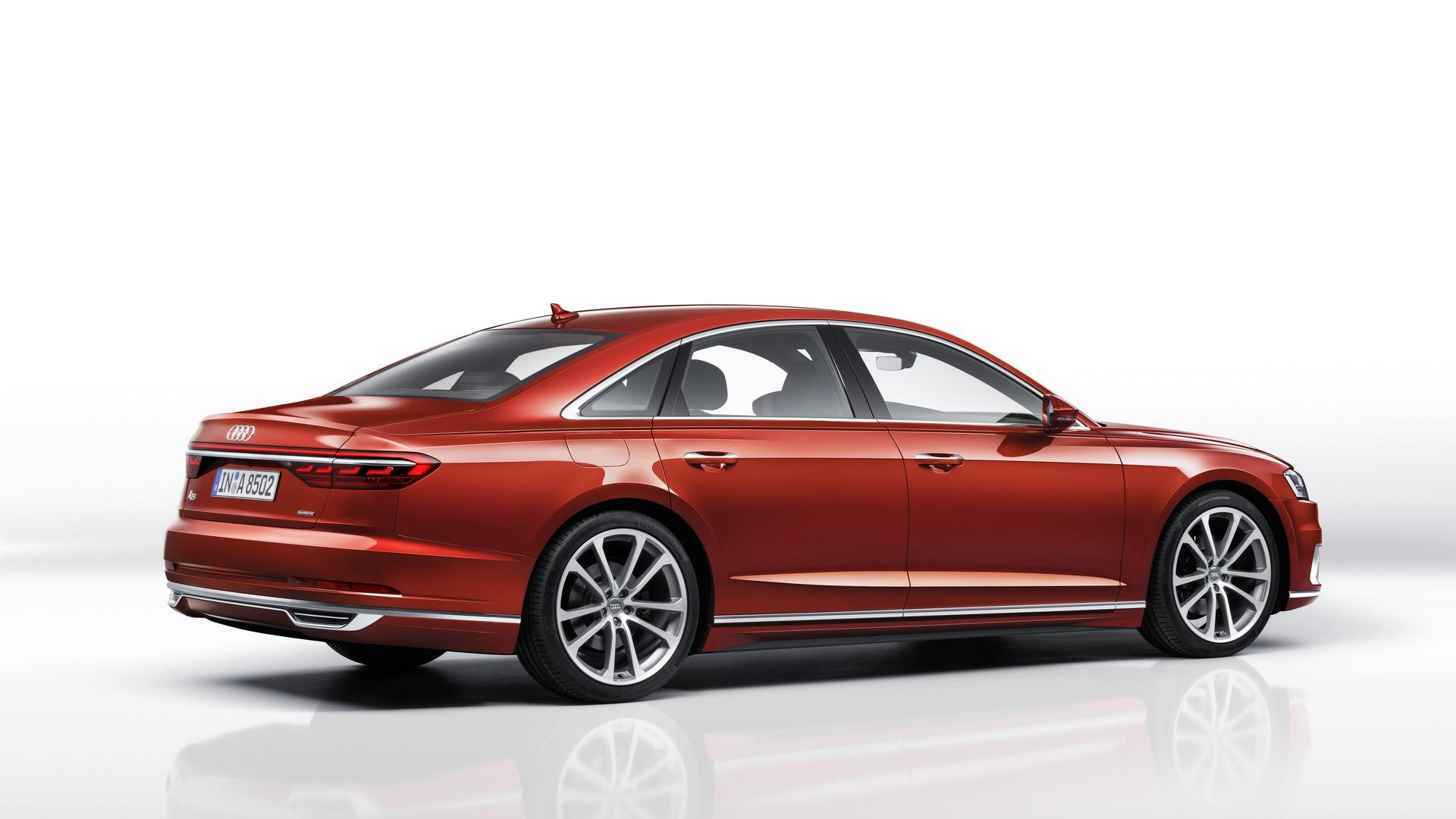 Watch The New Audi A8 Do 0 62 Mph In 5 5 Seconds With Ease