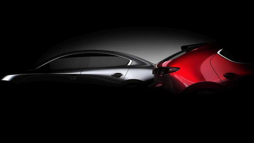 2019 Mazda3 Teaser | Motor1.com Photos