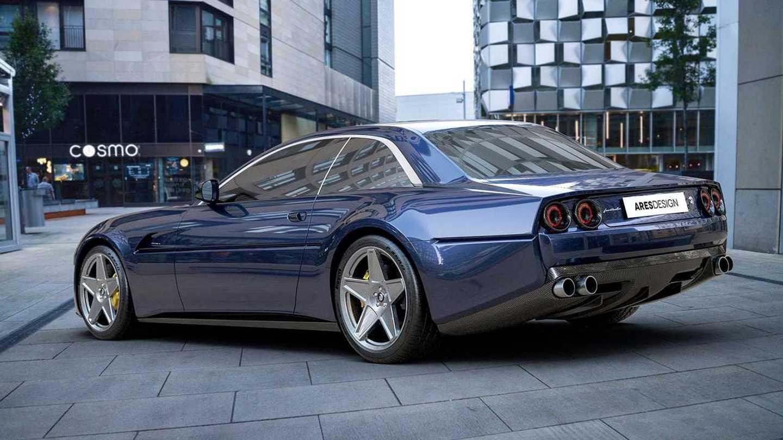 Ares Design Project Pony Ferrari Gtc4lusso