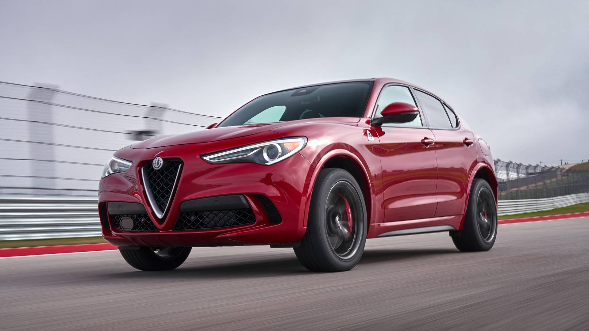 2018 Alfa Romeo Stelvio Quadrifoglio First Drive Suv Excitement