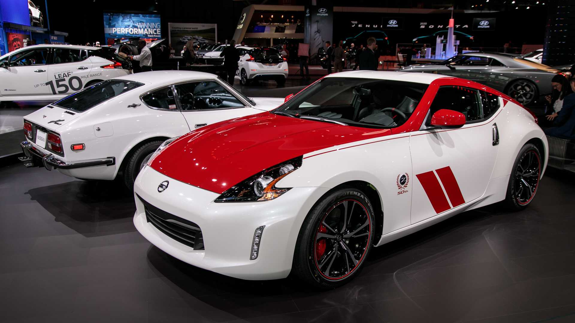Nissan 370z 50th Anniversary Edition Pays Homage To 240z Race Car