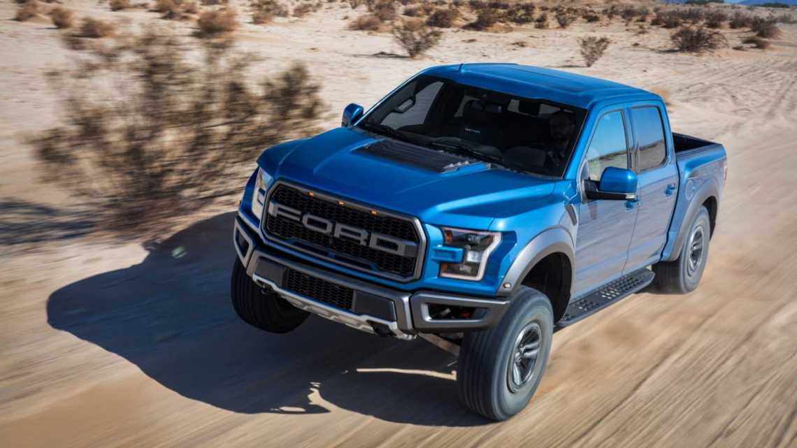 ford f-150 raptor with hellcat-rivaling v8 reportedly in the