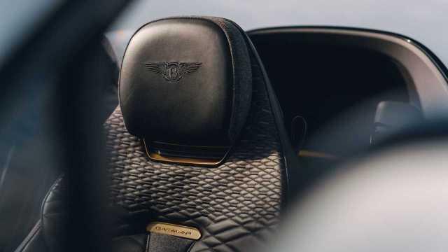 2021 Bentley Bacalar seat